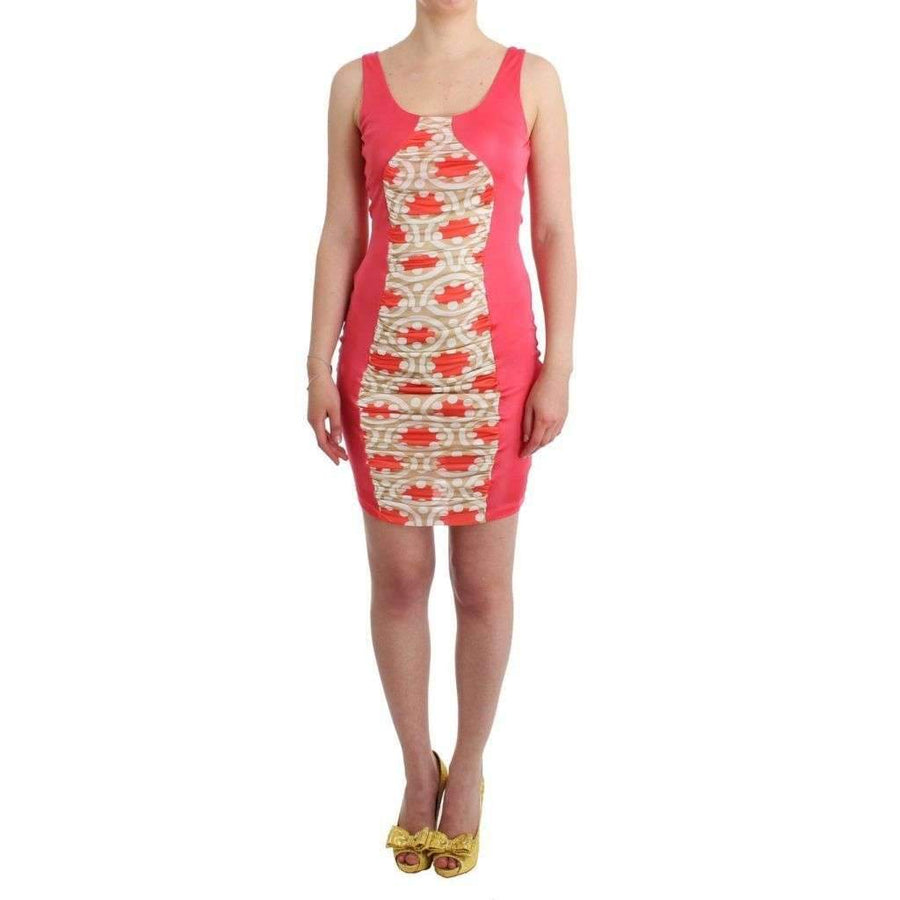 Multicolor Bodycon Viscose Dress - Women - Apparel - Dresses - Casual - GF Ferre | Gethuda Fashion