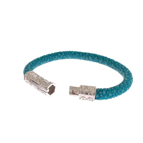 Blue Stingray 925 Bracelet - Women - Jewelry - Bracelets - Nialaya | Gethuda Fashion