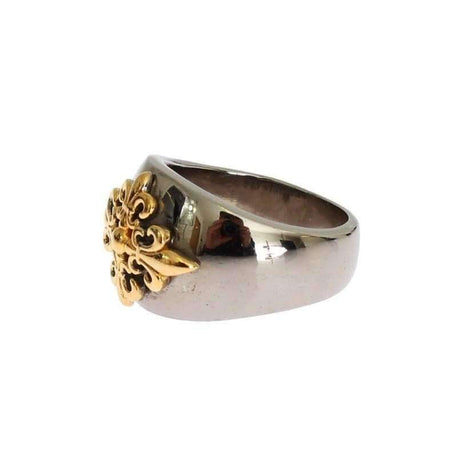 Gold Plated 925 Silver Ring - Men - Jewelry - Rings - Nialaya | Gethuda Fashion