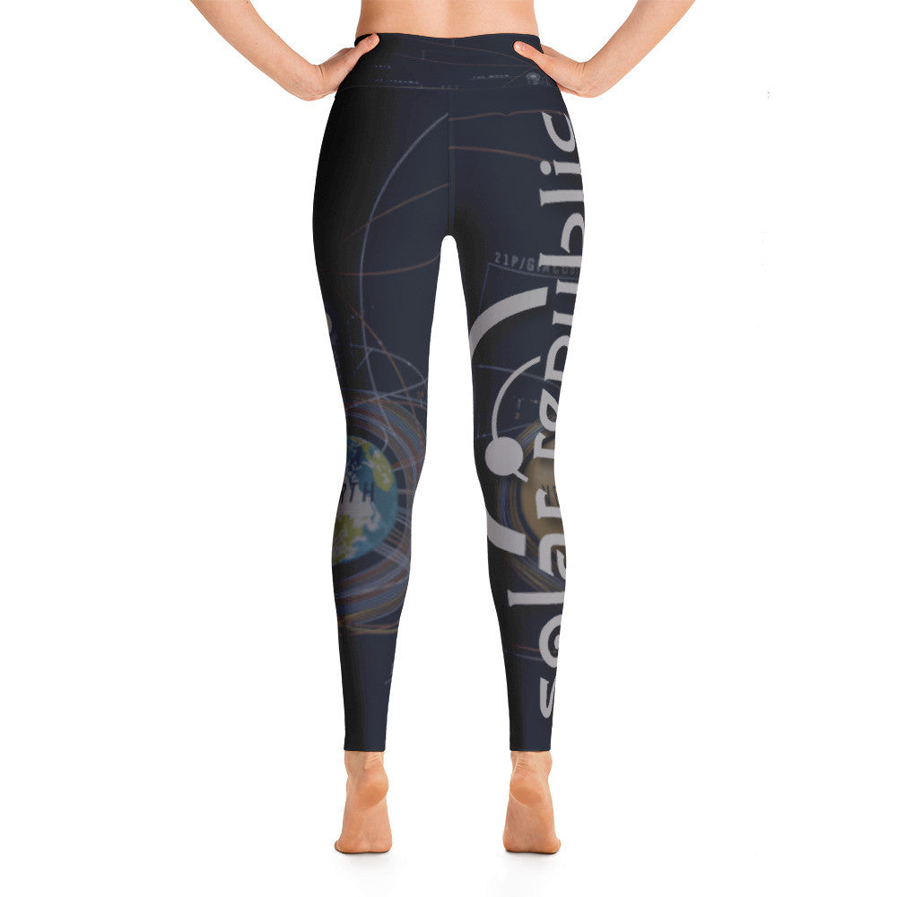 Space Traveler Yoga Pants - Soft, Stretchy and Comfy - The Solar Republic