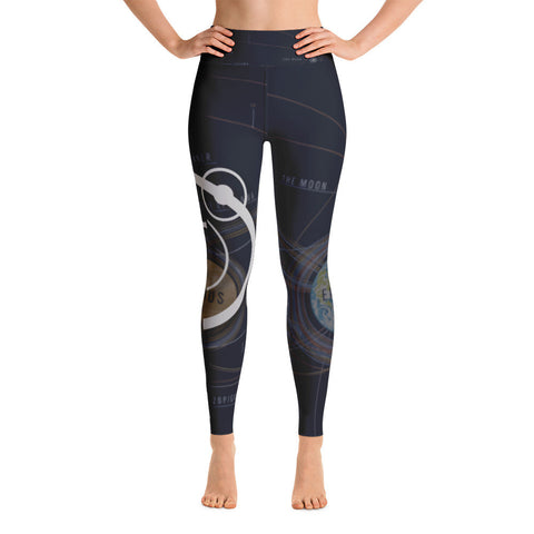 Space Travel Yoga Pants