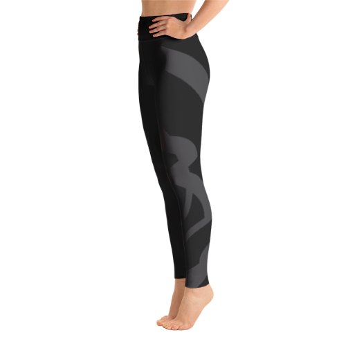 Solar Republic Grey Yoga Pants - Left