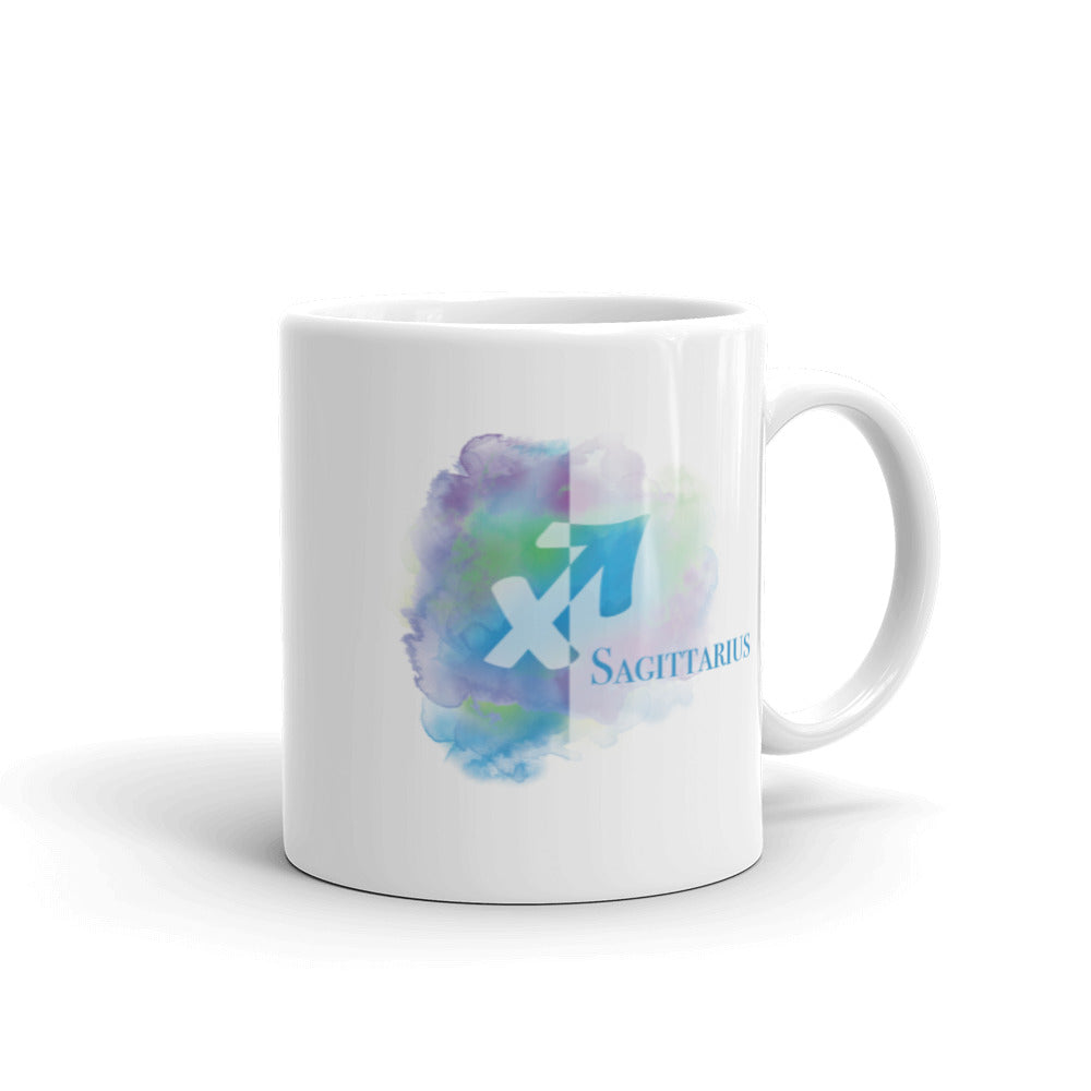 Sagittarius Sign Colorful Coffee Mug 11oz - Zodiac Coffee Mug - Sagittarius Gifts - November, December Birthday