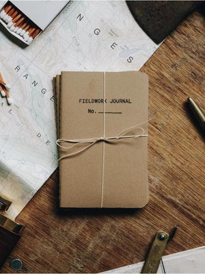 Replacement Journals - Fieldwork Co Waxed Canvas and Leather Hand Made Goods