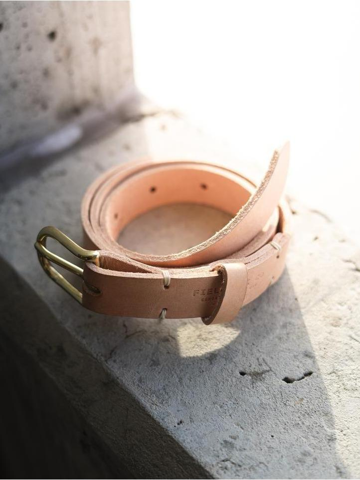 Classic Belt - Fieldwork Co Waxed Canvas and Leather Hand Made Goods