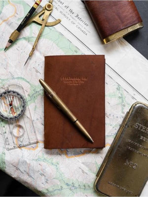 Fieldwork Journal - Fieldwork Co Waxed Canvas and Leather Hand Made Goods