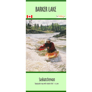 Barker Lake Canoe Map