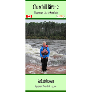 Churchill River 02 Canoe Map