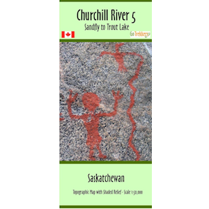 Churchill River 05 Canoe Map