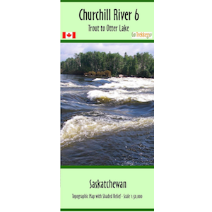 Churchill River 06 Canoe Map
