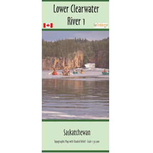 Lower Clearwater 1 and 2 Canoe and Kayak Map