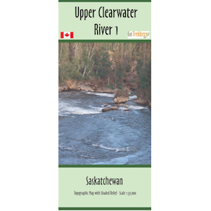 Upper Clearwater 1, 2 and 3 Canoe and Kayak Map