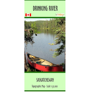 Drinking River Canoe and Kayak Map