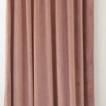 Ljuva Old Pink Velvet Curtains