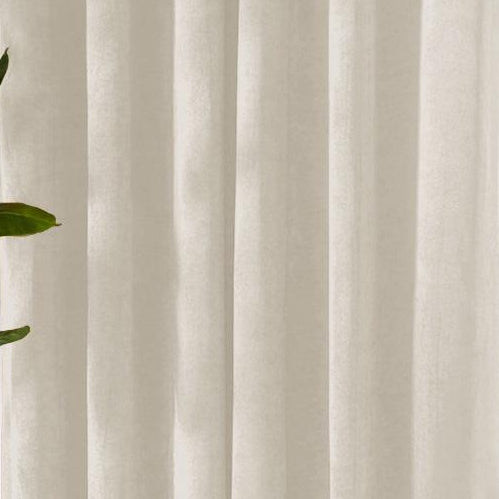 Louisiana Cream Velvet Curtains