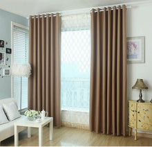 Brown curtains for living room and bed room