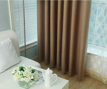 wave brown thermal curtains and drapes