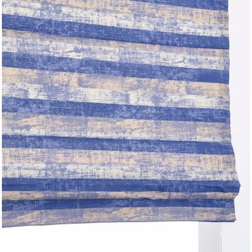 Blue wood texture Roman Blind - Koikaa Custom Blinds