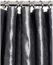 Olivia Charcoal Grey Curtains