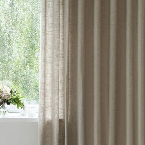 Alisa Beige Curtains