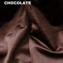 Chocolate Velvet Curtains-Koikaa