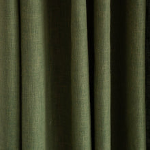 Country Cotton Green Curtains