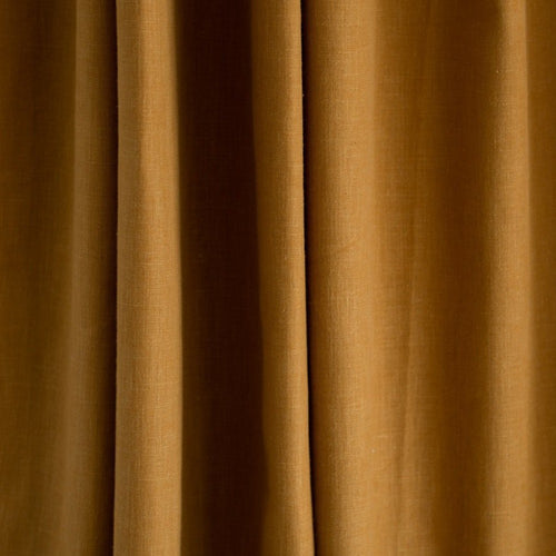 Country Cotton Mustard Curtains