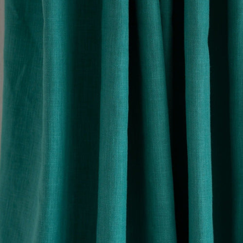 Country Cotton Turquoise Curtains