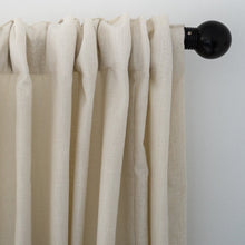Country Cotton White Curtains