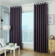 Purple thermal blackout curtains and drapes panel for livingroom