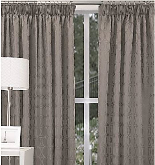 Elements ready made pencil pleat curtains