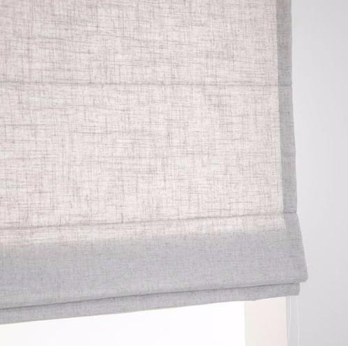 Estella Grey Sun filter Roman Blind | Custom Made Roman Blind