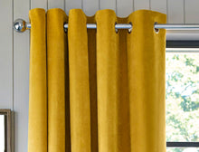thermal Gold Velvet Curtains