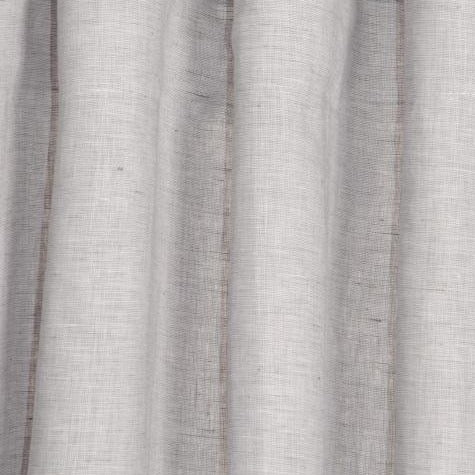 Light Grey Linna Pure Linen Curtains