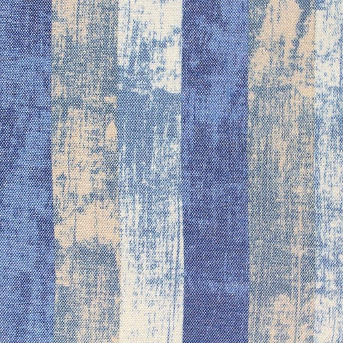 Blue Wood Texture Curtains