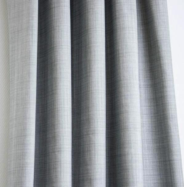 Letus Gray Curtains Custom made thermal blackout  curtains