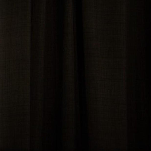 Letus Solid Black Curtains- Custom Made Blackout Curtains