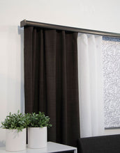 Letus Dark Grey Curtains-Custom made blackout drapes