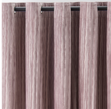 Moria Stripes Velvet Purple Curtains-Custom made velvet curtains