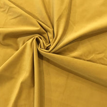 Nordic Mustard Velvet Curtains
