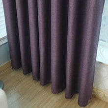 purple wave eyelet curtains