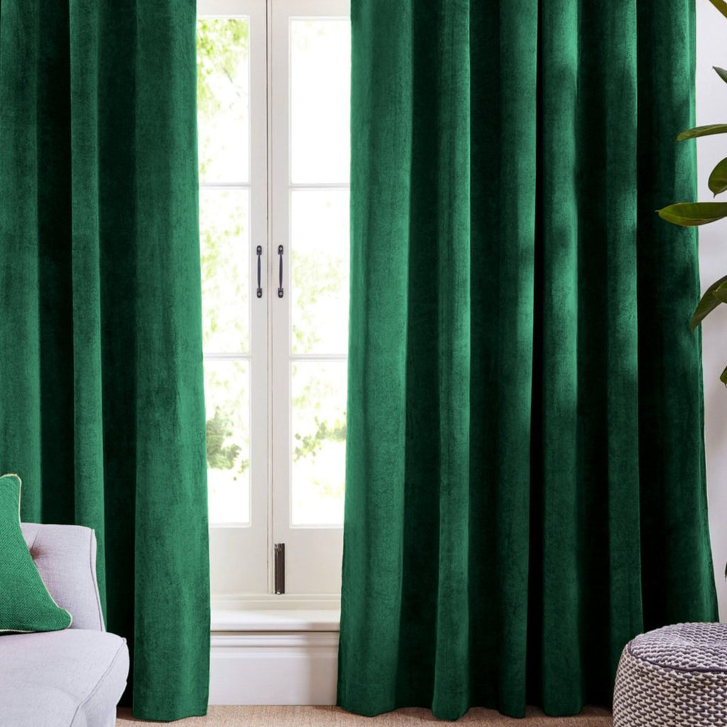 Long Curtains For Living Room Green