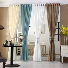 Cream sheer curtains collection