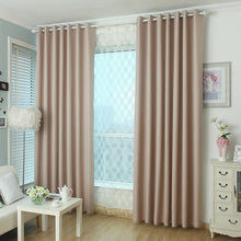 Light pink blackout thermal curtains and drape