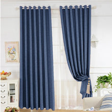 Cavendish Navy Blue Curtains