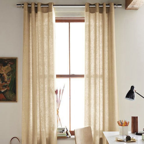 Cao Coffee Sheer Curtains