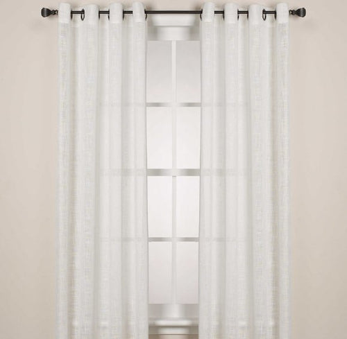 Cao White Sheer Curtains