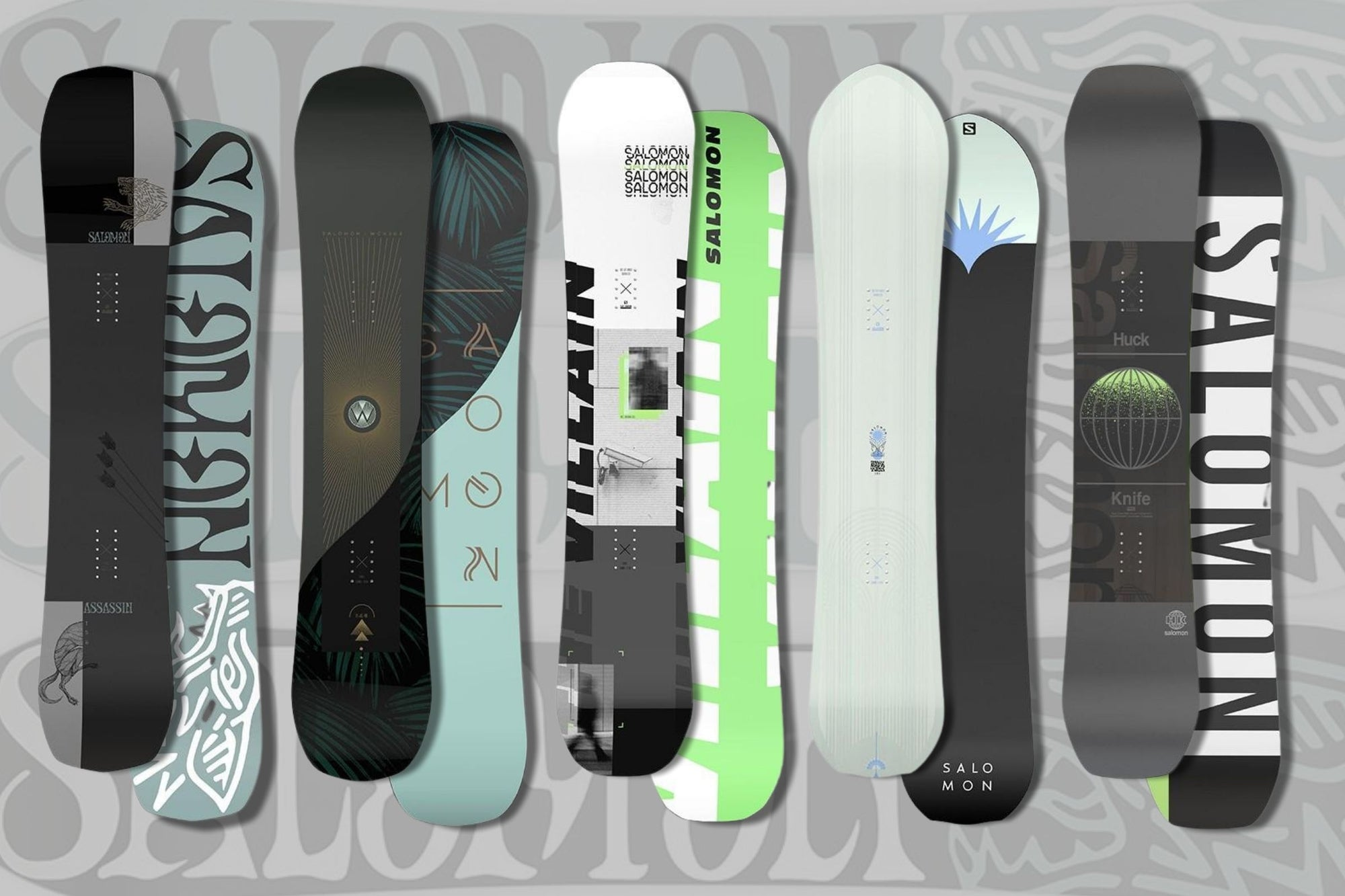 2022 Salomon Snowboards Overview