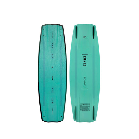 2021 ronix timebomb blackout technology wakeboard photo top and bottom