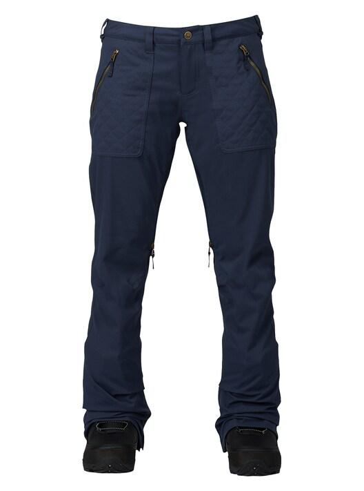 Womens Burton Vida Pant - Mood Idigo Snow Pants - Womens - Trojan Wake Ski Snow